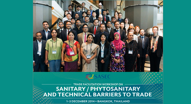 SASEC Trade Facilitation Week Sanitary Phytosanitary and Technical Barriers to Trade