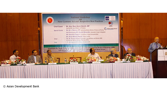 Bangladesh National Workshop on the New Customs Act and Related Best Practices