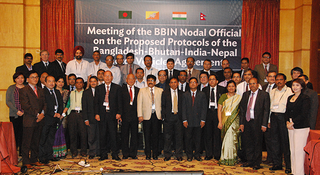 Negotiation of Protocols for the BBIN Motor Vehicles Agreement