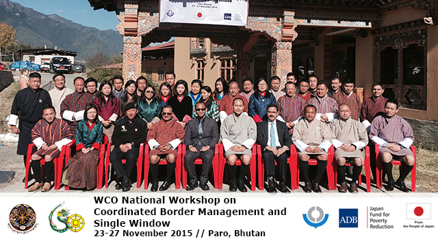 WCO National Workshop on Coordinated Border Management and Single Window in Bhutan