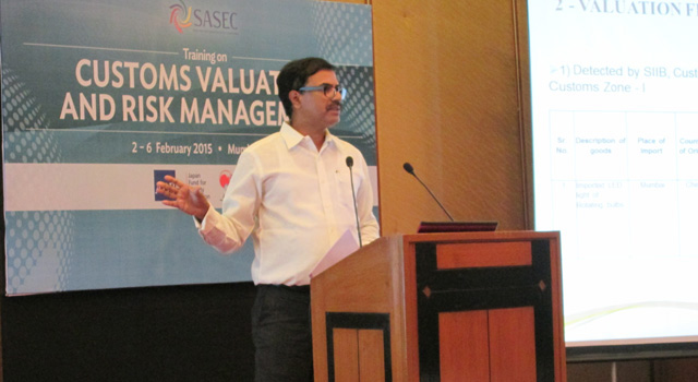 SASEC Training on Customs Valuation and Risk Management