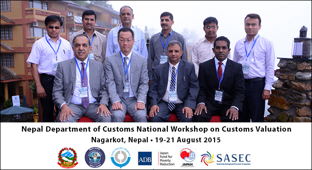 Nepal Customs National Workshop on Customs Valuation