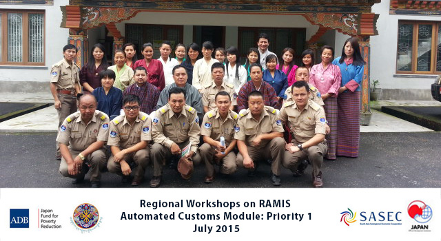 Regional Workshops on RAMIS Automated Customs Module Priority 1