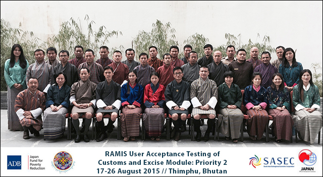 RAMIS Technical Training on Automated Customs Module: Priority 2