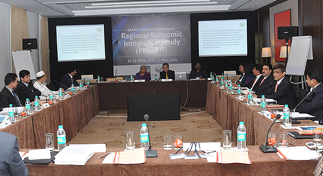 SAARC-ADB Workshop on SAARC Study Regional Economic Integration Phase II