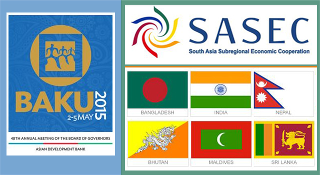 SASEC Nodal Officials' Meeting 2015