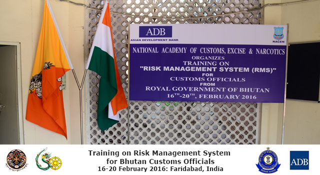 Bhutan Revenue and Customs Training on Risk Management System