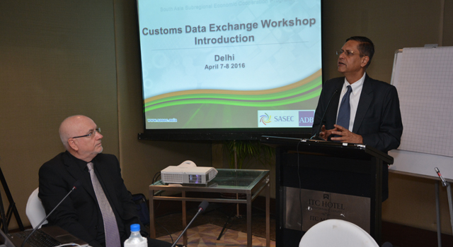 SASEC Customs-to-Customs Data Exchange in New Delhi, India