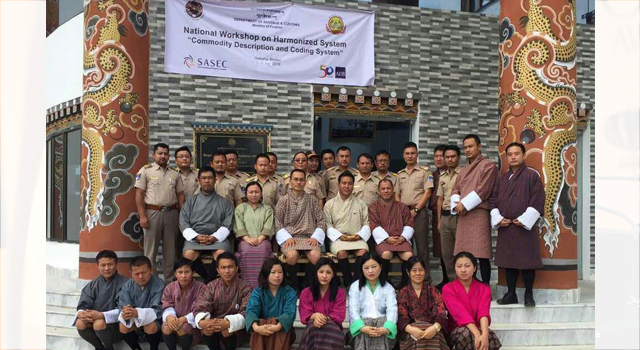 National Workshop on the World Customs Organization Harmonized System by the Bhutan Revenue and Customs and the Asian Development Bank