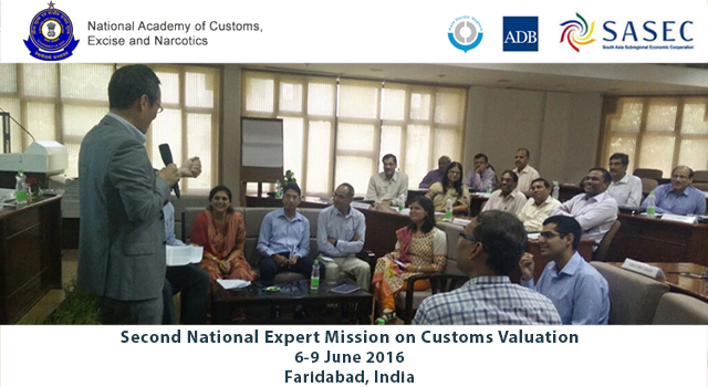 India Second National Workshop on Customs Valuation and Onsite Post-Clearance Audit