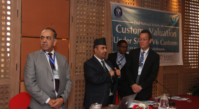 Nepal Department of Customs Second National Workshop on Customs Valuation