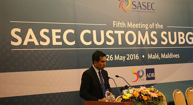Fifth SASEC Customs Subgroup Meeting
