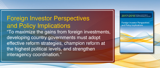 Foreign Investor Perspectives and Policy Implications