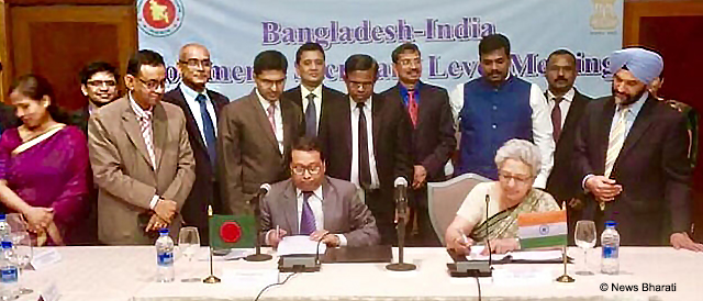 Bangladesh and India Focus on Deepening Bilateral Trade in Commerce Secretary-level Talk