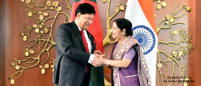 Bangladesh Foreign Affairs Minister Visits India
