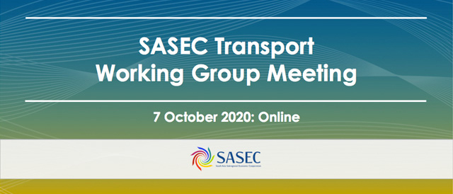 SASEC Transport Sector Working Group Meeting